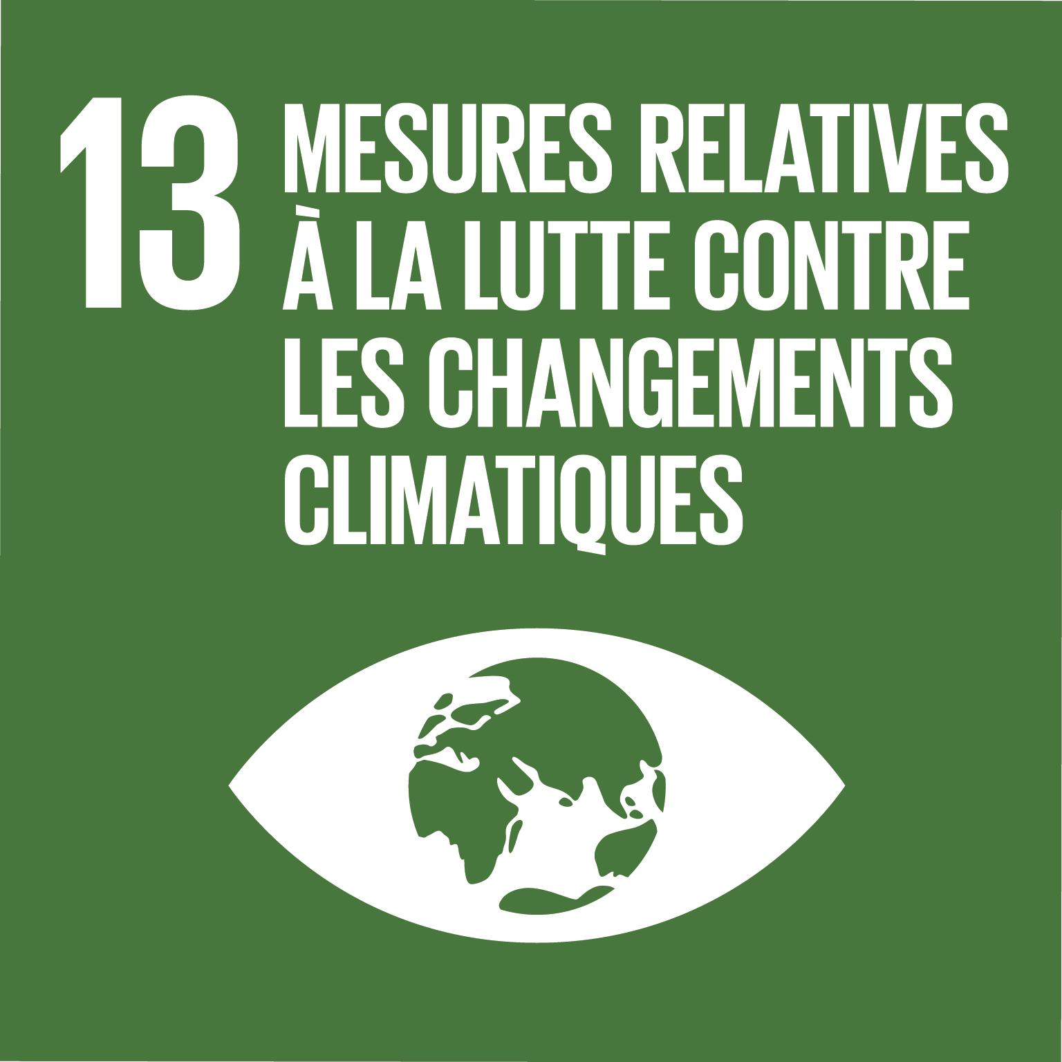 ODD Mesures relatives à la lutte contre les changements climatiques